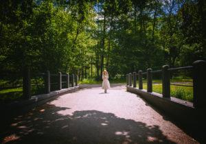 Zdjęcia komunijne - sesja w parku